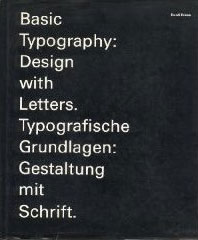 Basic Typography Design with Letters Gestaltung Mit Schrift